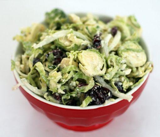 Kuru Erikli Brüksel Lahanası Salatası
