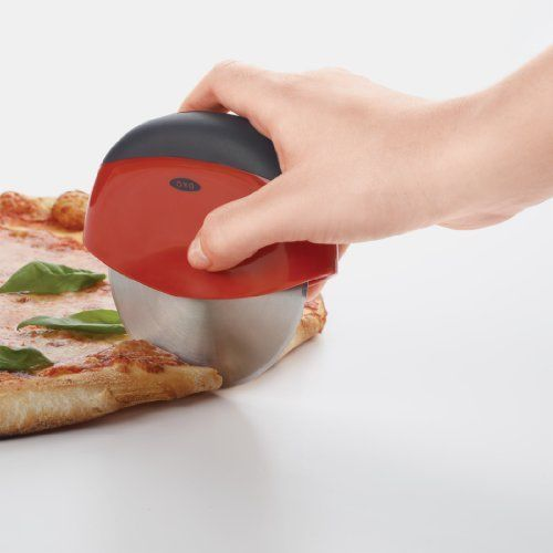 Pizza Wheel and Cutter OXO Good Grips Slicer Stainless Steel Wheel Blade Cutting