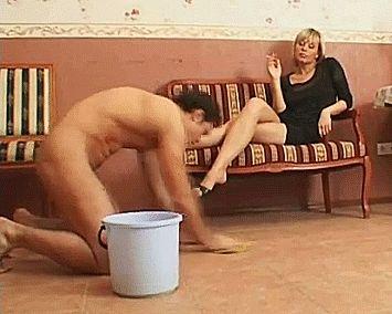 Femdom 247 houseboy toilet slave