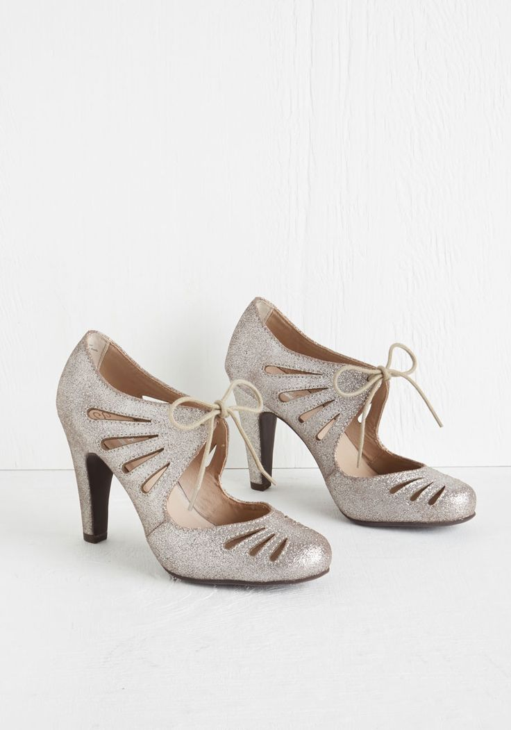 Brave Heel in Pewter, #ModCloth