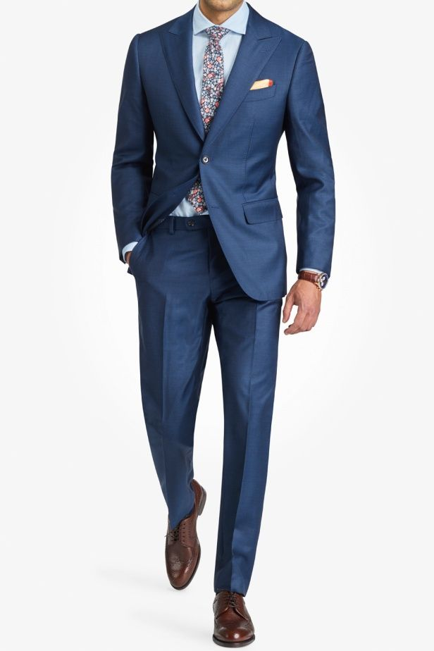 Mondo - Navy Blue Suit – New in Clothing – Selected – Shop
