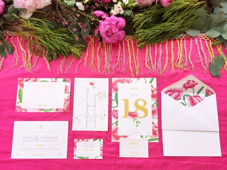 'La Virginia' es la segunda colección de #papeleriadebodas de #Loveratory. Encierra la esencia de Andalucía alejándose de los tópicos. Flores, siesta, azahar, el rumor de una fuente, el blanco de las fachadas encaladas, el dorado del sol, la alegría, la calma, todo eso es 'La Virginia'. #weddingstationery #invitacionesdeboda2016 #invitacionesdeboda2017 #invitacionesdeboda #flowers #peonias #weddingpaper  #meserosdeboda #weddingbranding #brandingddeboda #sobresforrados #invitacionesdeacuarela