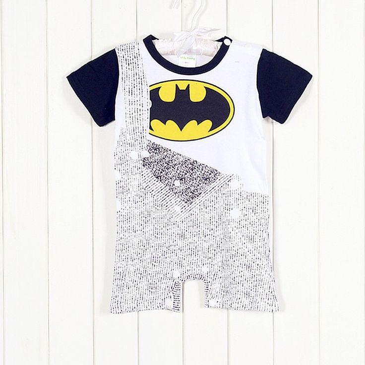 Batman Dungaree Onesie