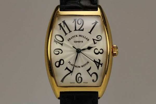Franck Muller 2852 SC Platinum Rotor 18K Yellow Gold Automatic Watch - http://menswomenswatches.com/franck-muller-2852-sc-platinum-rotor-18k-yellow-gold-automatic-watch/ COMMENT.