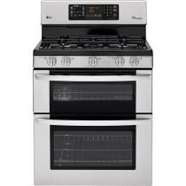 """LG - 30"""" Self-Cleaning Freestanding Double Oven Gas Range BETTER PRICE"""