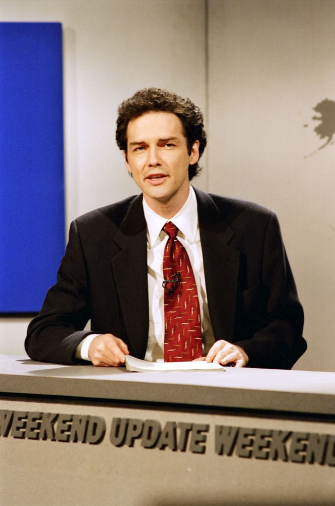 Weekend Update Hosts Through The Years. Norm Macdonald 1994-1997