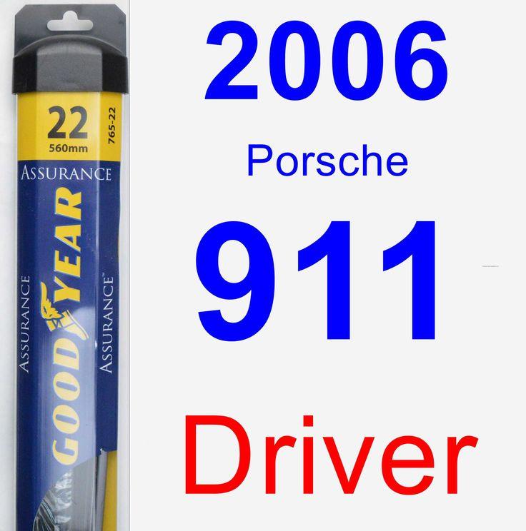 Driver Wiper Blade for 2006 Porsche 911 - Assurance