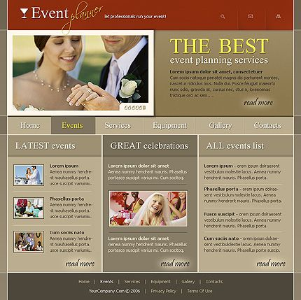 Entertainment Company SWiSH Templates by Cowboy