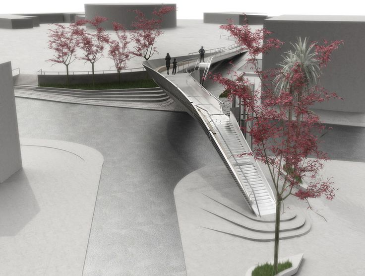 Footbridge, pafos city, cyprus / EP Architects - 谷德设计网