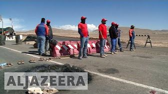 2:22  Chile miners continue strike for better wages