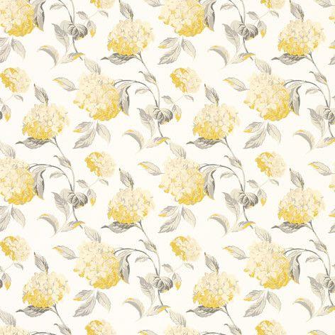Hydrangea Camomile Wallpaper
