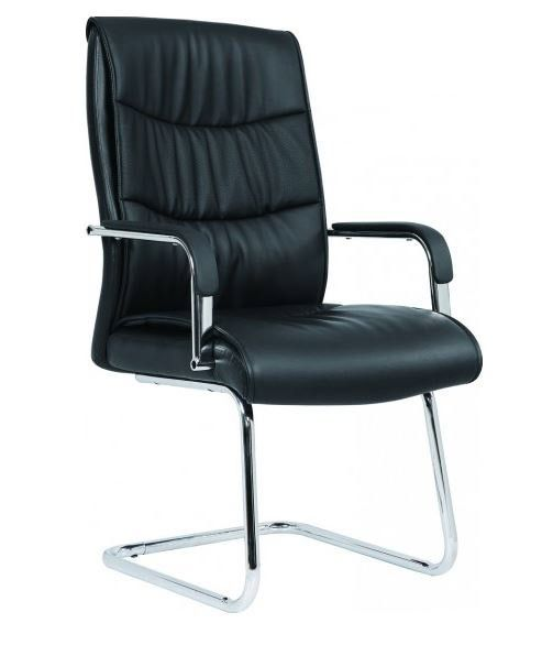 Malory Boardroom Chair - Cantilever Base | A beautiful faux-leather executive style boardroom chair!!