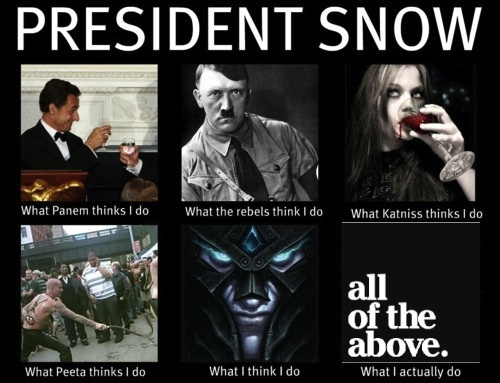 Quotes From President Snow. QuotesGram