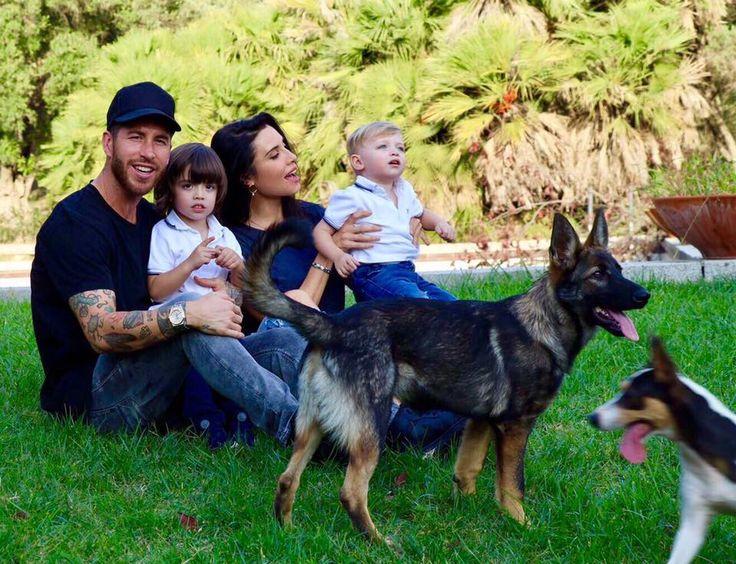Sergio Ramos and girlfriend Pilar Rubio expecting third child together