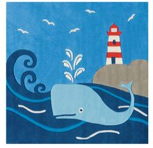 Whale Time Rug