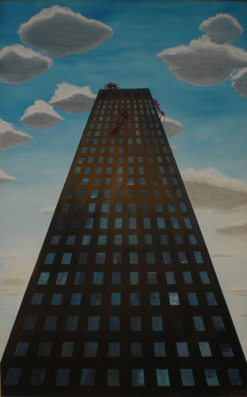 352 - Acrylic on canvas, 100 x 160