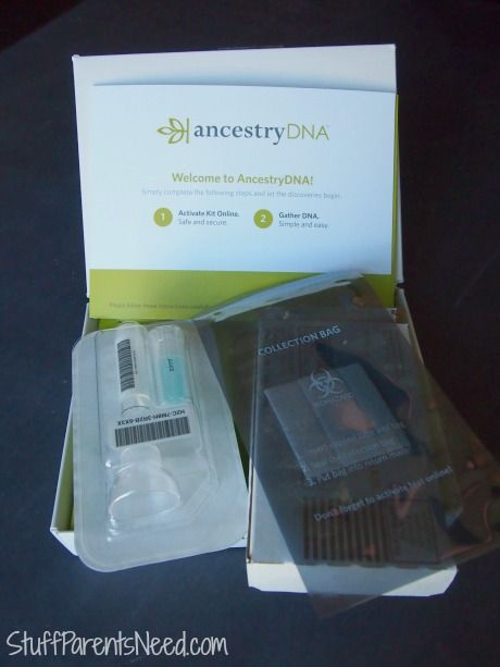 If you've ever been curious about how those DNA kits work, check out my process and results here! Another pinner results. But just received my kit.