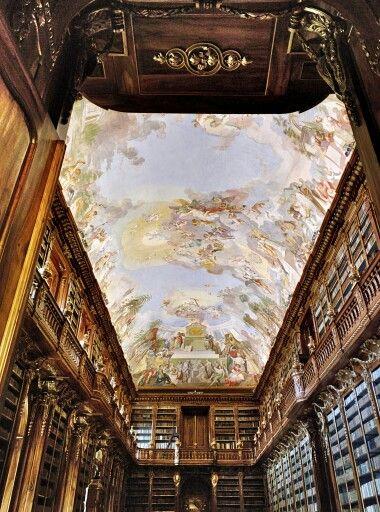 Strahovský klášter, knihovna #prague #library