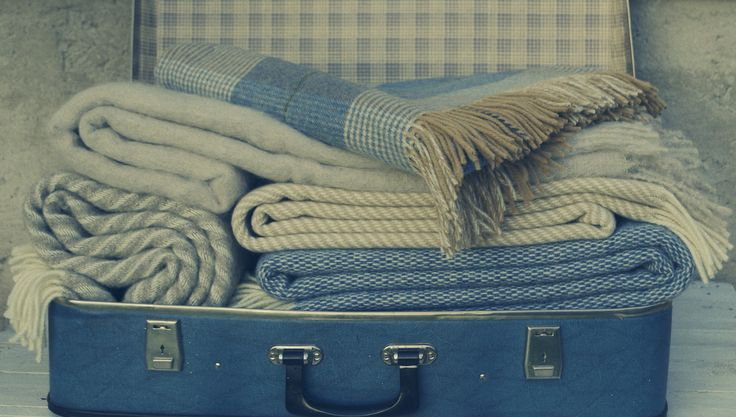 luxury wool blankets / luxusné vlnené deky