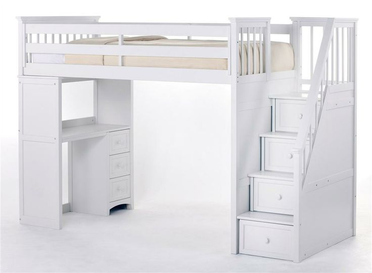 School House Stair Loft w Storage