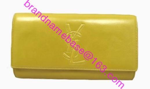FOR SALES!! YSL BELLE DE JOUR clutch bag saint laurent flap ...