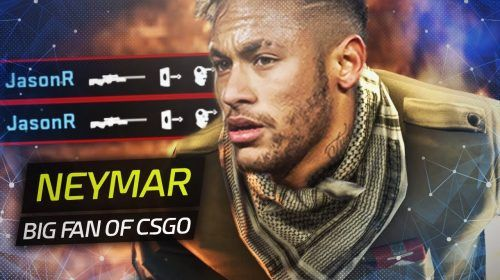 NEYMAR BIG FAN OF CSGO?! JASONR INSANE WALLBANG COLLATERAL • CS GO PRO HIGHLIGHTS