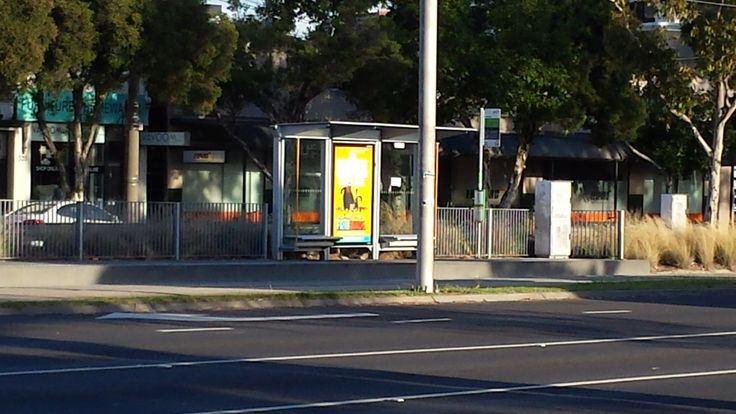 Trams only 3 minutes walk away.