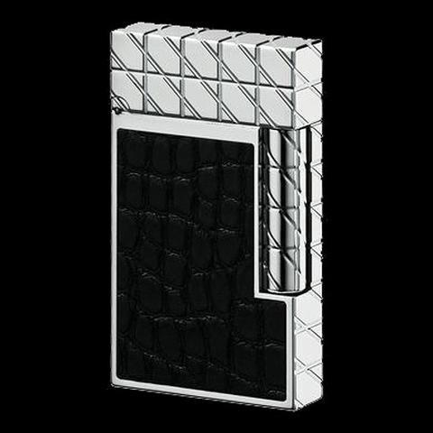 S.T. Dupont Premium - L2 Black Alligator
