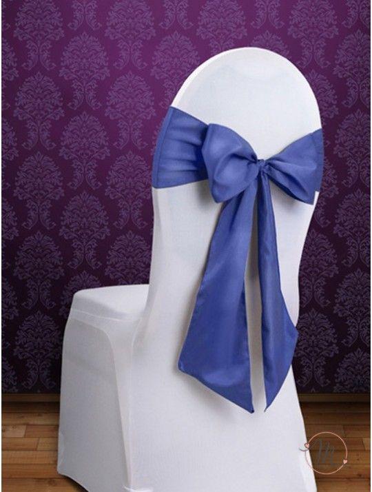 Fiocco per Sedia Satin Blu. Fiocco per sedia satin. Per decorare le vostre sedie. Misure: 2.75 mt x 15 cm. Ordine minimo 10 pezzi e multipli di 10. #allestimenti #matrimonio #ricevimentomatrimonio #nozze #weddingplanner #accessori #decori #tavoli #sedie #runner #fiocchi #wedding #weddingideas #ideasforwedding #fiocco #satin
