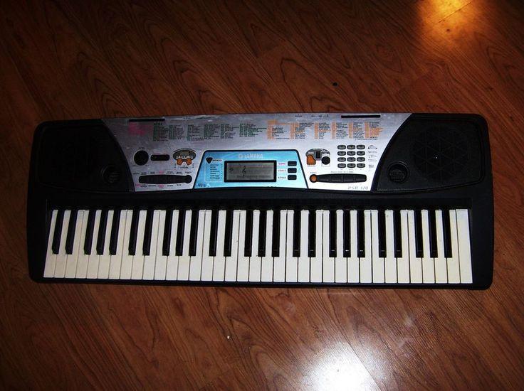 Yamaha PSR-170 Piano Keyboard w/AC Power Adapter #Yamaha