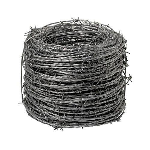 Wolfpack 1130005 Fil à barbelé galvanisé 4/15, rouleau de 250m: Price:43.38 ESPINO fil galvanisé PAPILLON – Longueur: 250 mètres. – N de…