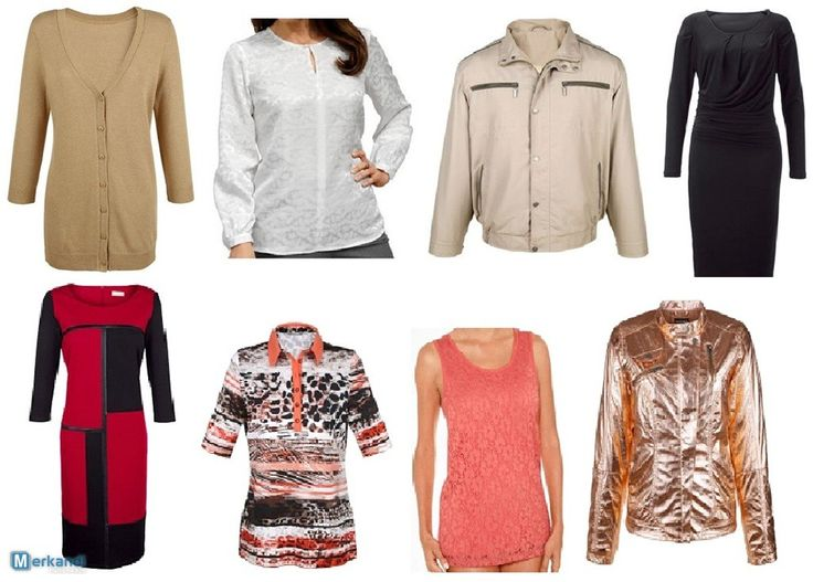 Brand new and current seasonal clothing for the spring and summer Cont