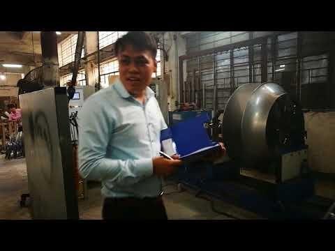 Why do you want to make centrifugal fan wheel balance before shipment?