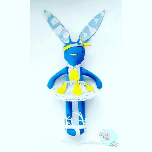 Banny Blue  http://vk.com/evawithlovetoys #banny #bannytoy #animaltoy #toy