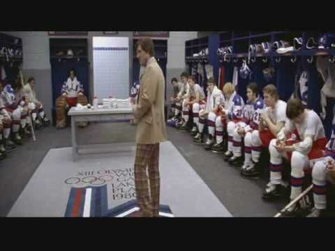 """Coach Herb Brooks' speech from """"Miracle."""" Love it."""