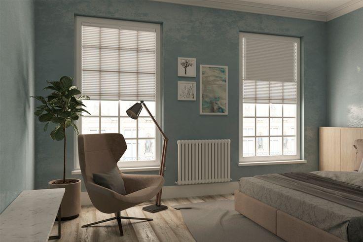 Оформление окна для Спальни в Скандинавском стиле. Мы предлагаем уникальный вариант солнцезащиты - встроенные жалюзи-плиссе, которые устанавливаются таким образом, что не мешают открыванию, закрыванию и изменению угла оконных створок. #плиссе #шторы #ткани #тканидляштор #жалюзи #вдохновениедлявашихокон #windeco #скандинавскийстиль #оформлениеокна #interiordesign #interiorinspiration #windowdecoration #scandinavianinterior #скандинавскийстиль