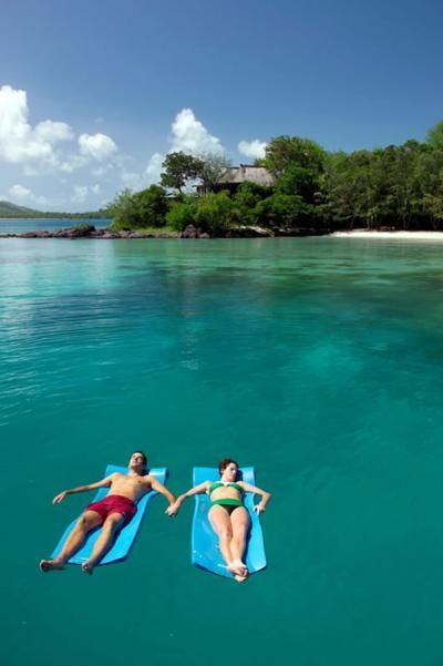 Turtle Island- Fiji.  (all-inclusive resort)