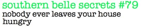 southern belle secrets #79