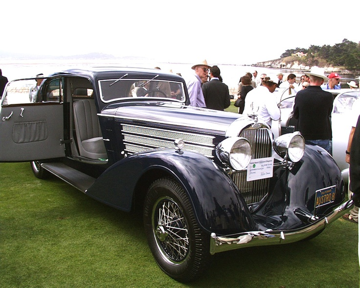 1932 AustroDaimler ADR8 Alpine Sedan Antique cars