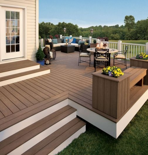 Are you looking for such an info regarding the composite decking prices since you are thinking about building a deck on your house?