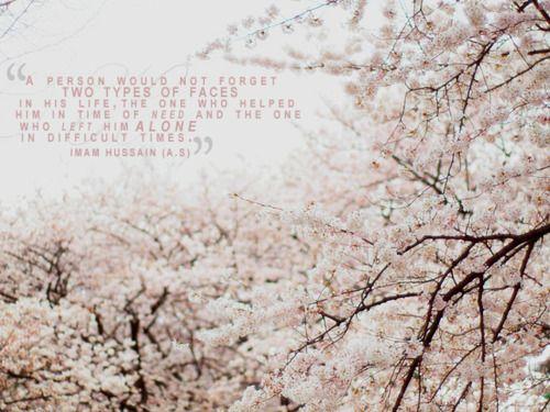 Imam Hussain a.s saying