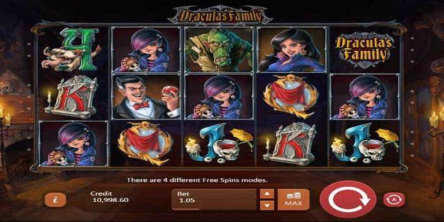 играть в игровой автомат dracula family