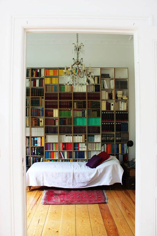 my dream home - Beidermeier apartment in Berlin with high ceilings and filled with thrift store finds. sigh.