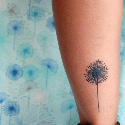 #dandelion #minimal #line #tattoo