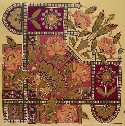 Victorian Wallpaper Patterns | True Victorian Wallpaper patterns!