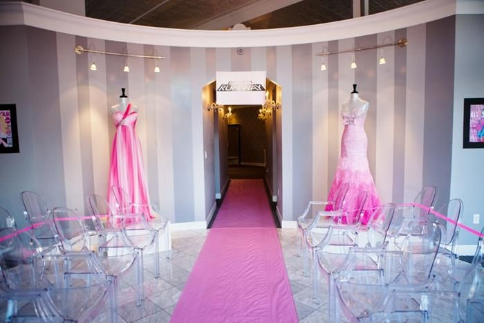 royal project runway fashion show party planning ideas