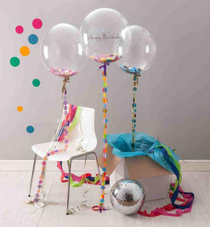 I've just found Birthday Confetti Filled Balloon. A stunning balloon that is perfect for saying happy birthday!. £29.95