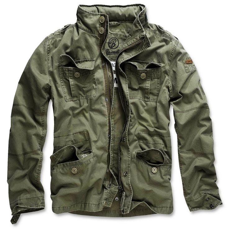 Moška jakna, Vintage Britania - Brandit - Olivna | Army Shop Admiral