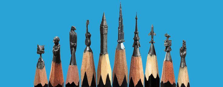 Minyatür Kurşun Kalem Sanatı