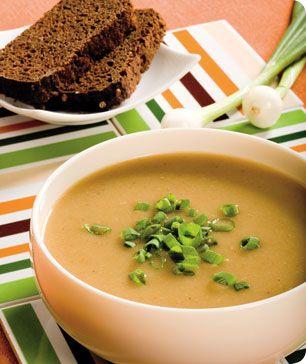 Суп-пюре из картофеля для детей